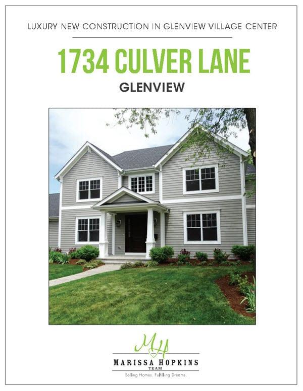 1734 Culver Lane Glenview IL 1