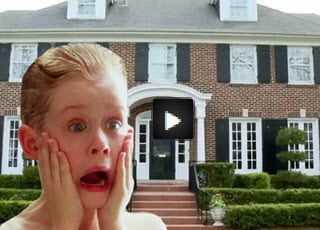 Real Home Alone. House